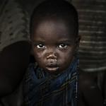 PHOTO PICTURE AFRICA TANZANIA PEOPLE HADZABE BUSHMEN CHILDREN
